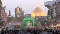 مدينة النجف تكاد أن تخلو من الزوار الإيرانيين