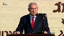 نتانیاهو در کنار تاسسیات هستهای اسرائیل ایران را تهدید کرد