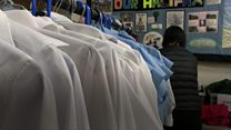 Recycled school uniforms 'helping hundreds'
