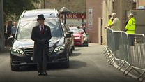 Fans gather for funeral of 'greatest ever'