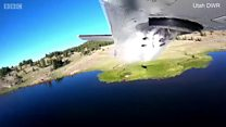 सयौं माछालाई विमानबाट खसालिएको त्यो क्षण