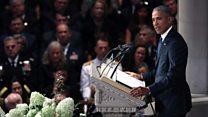 Obama on John McCain's 'last laugh'