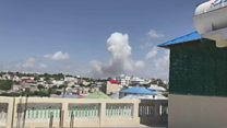 Aftermath of Mogadishu explosion