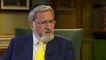 Sacks: Corbyn a 'danger' to British Jews