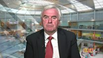McDonnell: Sacks 'wrong' about Corbyn