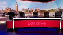 Time-lapse for new Politics Live studio