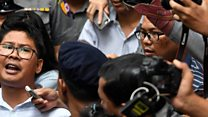 Journalists speak out on Myanmar sentence