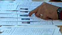 مشکل شناسنامه های جعلی در انتخابات افغانستان
