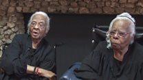 US twins celebrate turning 102