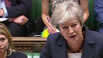 May: Corbyn 'can't even agree with himself'