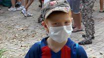 В Крыму из-за токсичных испарений эвакуируют детей