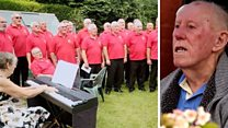 Choir fulfils 92 year-old's dying wish