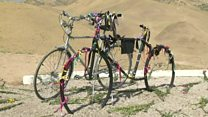 گرامیداشت دوچرخهسواران کشته شده در تاجیکستان