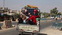 جنگ ادلب قبل از شروع آواره میگیرد