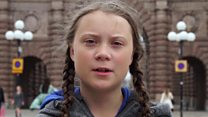 Swedish teen's sit-in climate protest