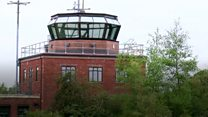 Cold War control tower opens to the public
