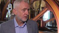 Corbyn responds to Blair criticism