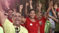 Meet Mumbai's singing and dancing plogging club