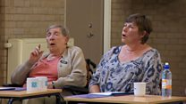 Care home singing helps dementia patients