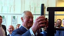 Prince Charles completes tea room revamp