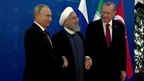 نشست تهران؛ مخالفت ترکیه با ایران و روسیه بر سر سوریه