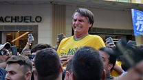 Jair Bolsonaro stabbed at rally