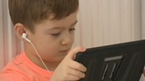 The autistic schoolboy at home for 300 days