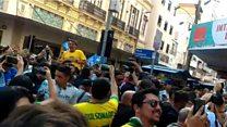 Brésil: Un candidat à la présidentielle poignardé en plein meeting
