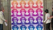 US Postal Service issues John Lennon stamp