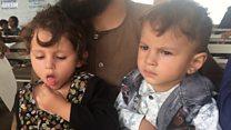 'نصف سے زیادہ پناہ گزین بچے ہونا لمحۂ فکریہ ہے'