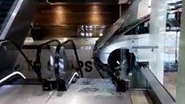 Video shows Westfield crash aftermath