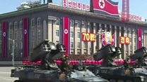 د شمالي کوریا پرېډ کې دا ځل توغندي نه وو