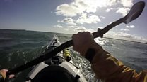 Kayaking the Shipping Forecast seas
