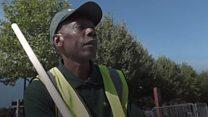 London's 'reggae road sweeper'