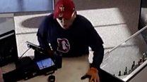 Colorado robber drops gun, then trousers