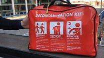 Hundreds of acid attack kits for police