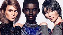 """عارضو أزياء""""رقميون"""" على وسائل التواصل الاجتماعي يثيرون جدلا واعجابا"""