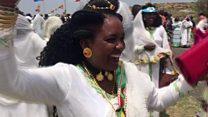 Ethiopia-Eritrea border celebrations