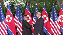 မြောက်ကိုရီးယားခေါင်းဆောင်က ထပ်တွေ့ဆုံဖို့ ကမ်းလှမ်းလို့ အိမ်ဖြူတော်ပြော