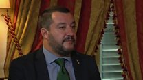 'Italy only has room for 10% of migrants'
