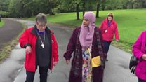 The interfaith walk bringing communities together