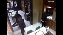 Gleneagles jewel heist caught on CCTV