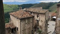 Reviving Italy's ghost towns with an unusual hotel