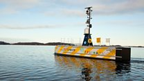 Autonomous duo to map sea floor