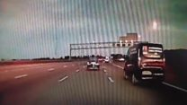 Police crackdown on 'middle lane hoggers'