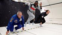 Has Usain Bolt won the space race?