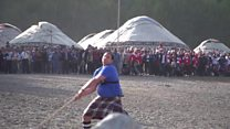 Taking Highland games to Kyrgyzstan