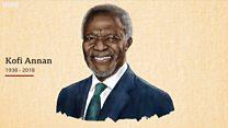 Matukio muhimu katika maisha ya Kofi Annan