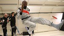 Usain Bolt: el hombre más rápido en la Tierra... y en el espacio