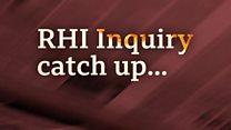 RHI inquiry - catch up